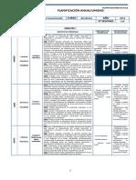 Lenguaje Planificacion - 6 Basico Proate Ambos Semestres