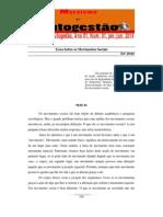 Teses Sobre Os Movimentos Sociais - Karl Jensen