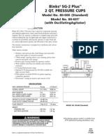 Binks Pressure Cup Manual