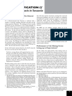 Understanding the mining policies of Tanzania