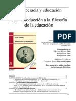 1. 07-Dewey- Educación y Democracia