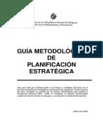 Guía Metodológica Planificación Estratégica