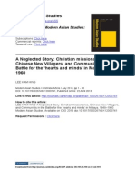 Missionary Chinese Education