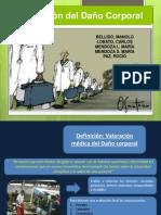 Medicina Legal. Valoración Del Daño Corporal