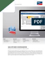 SMA Off-Grid Configurator
