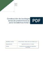 Construcci Diagramas Zonas de Predominancia de PH Para Los Sistemas Metal-Agua