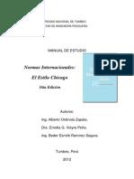 Manual de Estudio Normas Internacionales Estilo Chicago 16ta Edicionx