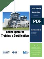 Boiler Operator Training & Certification