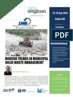 Modern Trends in Municipal Solid Waste Management
