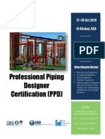 Professional Piping Designer Certification (PPD)