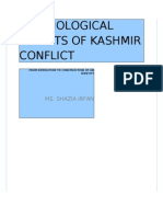 Kashmir Conflict and Peacemaking