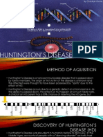 Huntington's Disease by Christian Piscos