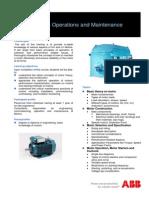 INBOM001 HV&LV Motors Operations and Maintenance