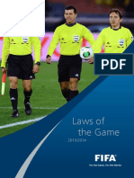 Undang-Undang Bola Sepak FIFA 2013