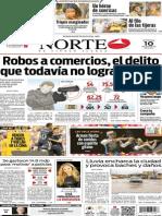 Periódico Norte edición del día 10 de agosto de 2014