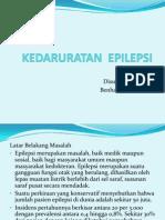 Kedaruratan epilepsi ppt