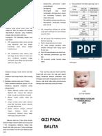 Pamflet Gizi Bayi 02 (Dr. Putri Fitrania)
