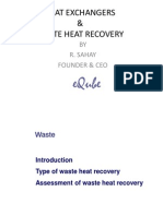 Heat Exchangers & Waste Heat Recovery
