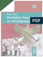 Buku Pegangan Guru PPKn SMA/SMK Kelas 10 Kurikulum 2013 Edisi Revisi 2014