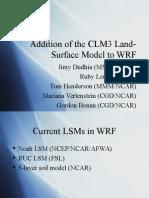 WRF-CLM