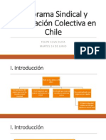 Panorama Sindical y Negociación Colectiva en Chile