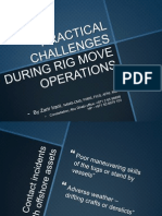 Practical Risks of Moving Rigs by rig move masters dubai