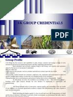 Mep _ak Group Credentials