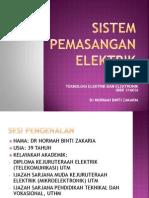 Sistem Pemasangan Elektrik