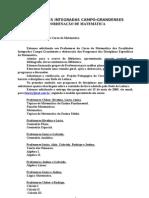 PROGRAMA DE DISCIPLINA- MODELO 1