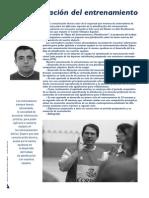La Planificacion Del Entrenamiento. MIguel Ángel Lebrón