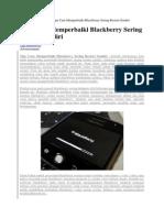 Cara Instal Blackberry