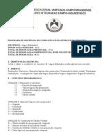 PROGRAMA DE LÓGICA MATEMÁTICA