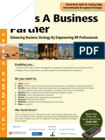 HR As A Business Partner