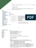PHP Calendar Date Picker
