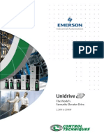 Unidrive Sp Elevator Brochure