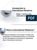 introduction to IR's