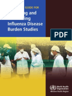 A Practical Guide for Designing and Conducting Influenza Disease Burden Studies