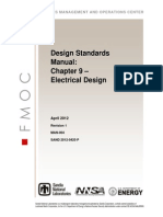 MAN-004 Design Standards Manual Ch-09 Electrical Design