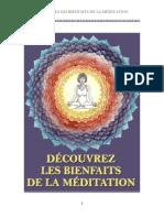 Bienfaits Meditation