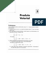NOTAS DE AULA DE PRODUTO VETORIAL