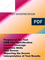 Test Interpretation