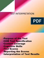 Test Interpretation