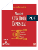 Transparências - MANUAL de CONSULTORIA EMPRESARIAL Conceitos, Metodologia, Práticas - Rebouças