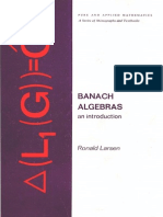 Banach Algebras an Introduction Pure and Applied Mathematics