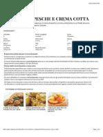 Torta di pesche e crema cotta | Sale&Pepe