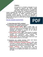 Generalidades Sobre El TOEFL