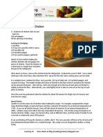 Oven-Baked Curried Chicken