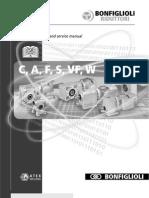Bonfiglioli W Series Gearbox Manual