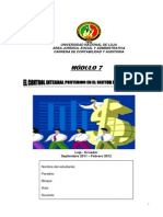 Modulo 7 El Control Integral Posterior en El Sector Publico y Privado