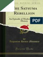 The Satsuma Rebellion